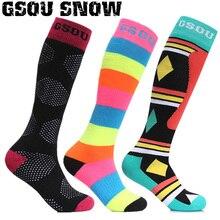 Gsou Snow Men Women Ski Socks