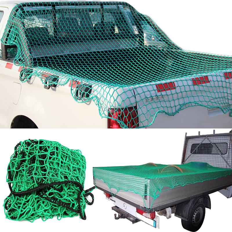 5 Sizes Mesh Cargo Net Strong Heavy Cargo Net Pickup Truck Trailer Dumpster Extend Mesh Covers Roof Luggage Nets