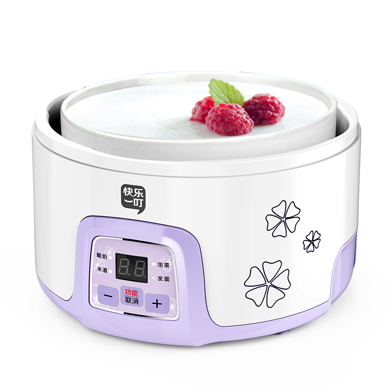 Household Yogurt machine Fully automatic Rice wine machine High capacity ceramics Fermented flour Pickles machine natto yogurt makers household fully automatic yogurt machine with glass liner timing rice wine machine 4 sub cup green