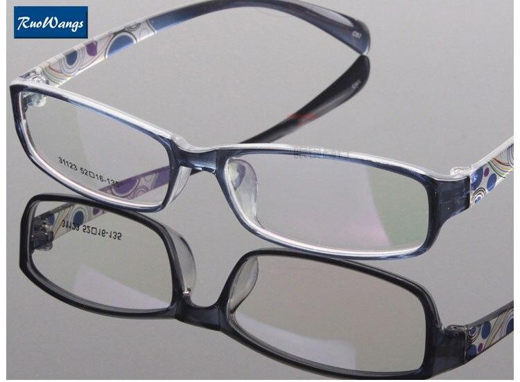 1d0b3b0558 RuoWangs man eyeglass frames eyeglasses spectacle womens prescription  eyewear eyeglasses TR 90 frame myopia eye glasses clear-in Eyewear Frames  from Apparel ...