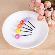 Fashion 1Pc New Arrival Colorful Simple Girs Kids Children Cute Lovely Barrettes Hairpin Hair Accessory Colorful M 12Styles