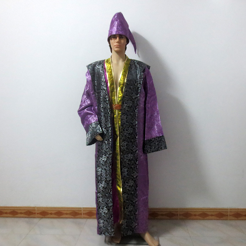 Albus Dumbledore Christmas Party Halloween Uniform Outfit Cosplay Costume Customize Any Size