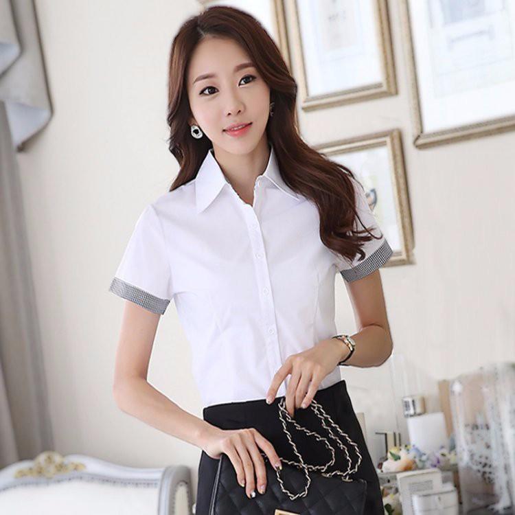 HTB1 J34LXXXXXaNXVXXq6xXFXXXZ - Casual Blouse Long Sleeve Femininas Ladies Work Wear Tops Shirt