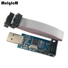 MCIGICM 50pcs YS 38 USB ISP Programmer for ATMEL AVR ATTiny 51 AVR Board ISP USBISP usbasp