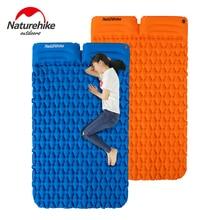 Naturehike קמפינג מחצלת שינה כרית אוויר מזרן עם כרית ומתנה חינם מתנפח תיק