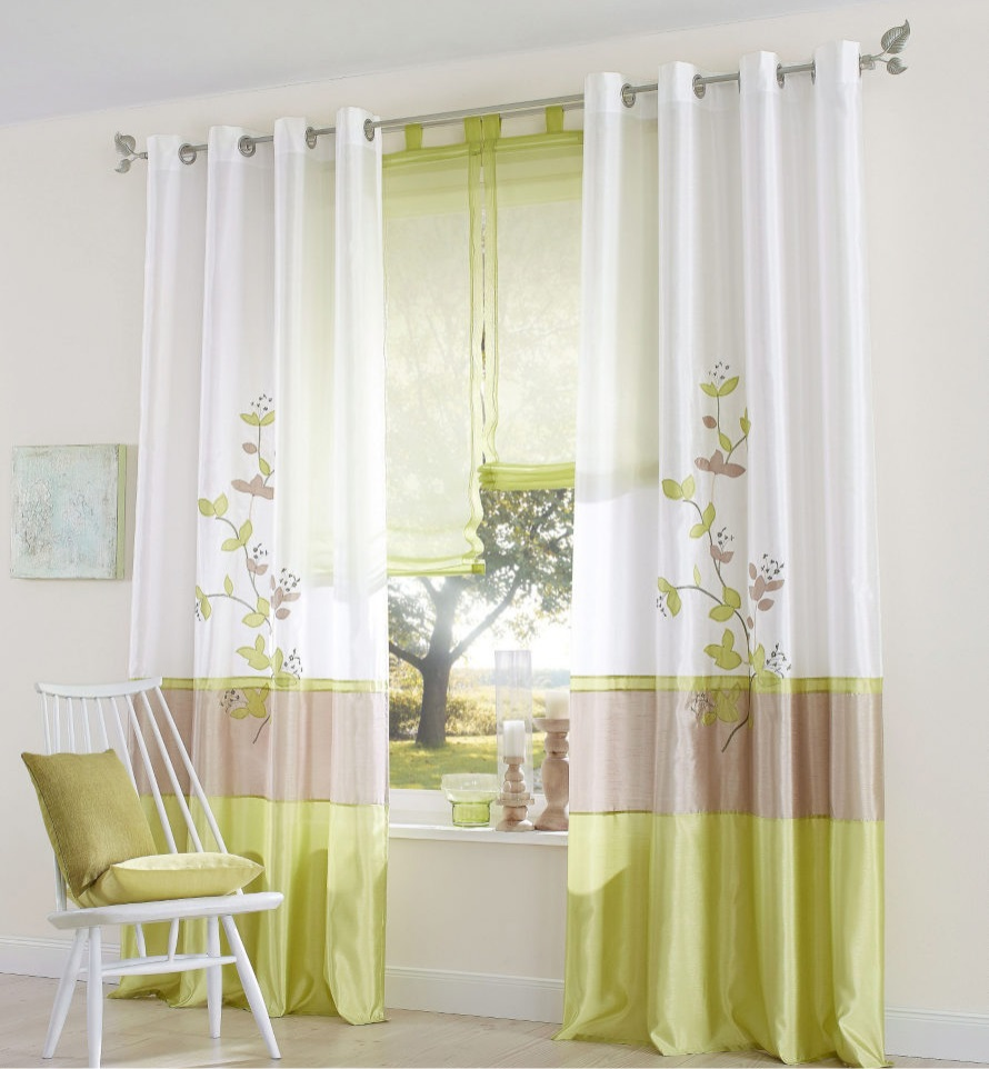 Buy 140cm Wide Made Ready Window Transparent Voile Panel Blinds Curtains