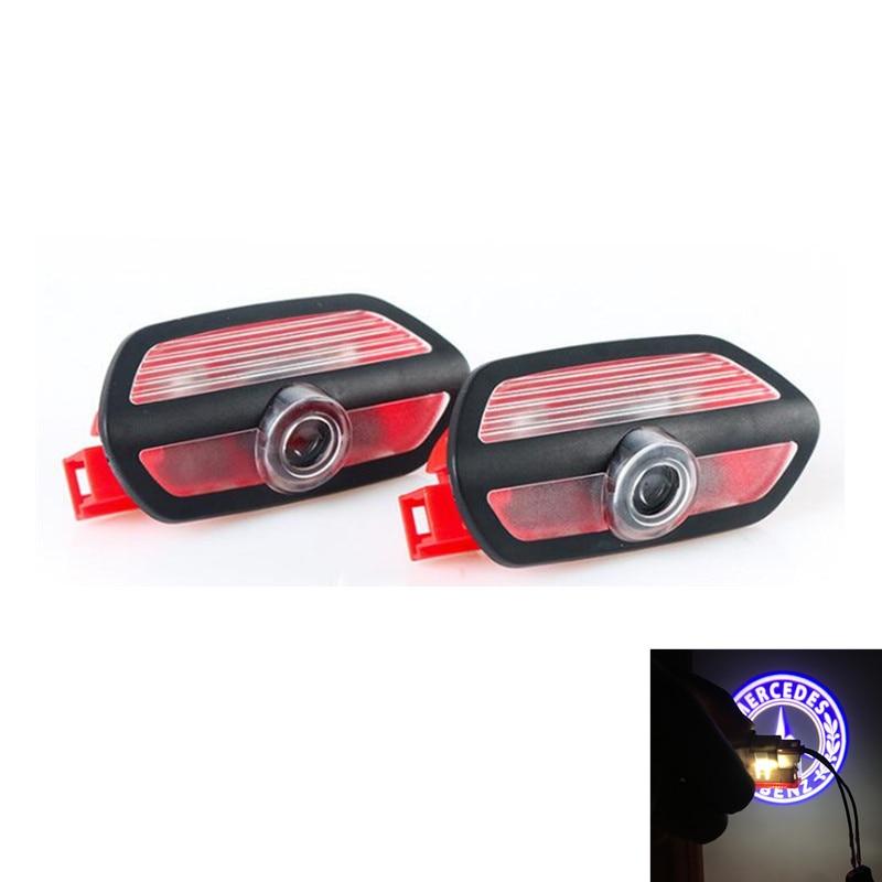 2 stücke Für Mercedes Benz W222 S300 S320 S500 S63 Auto Tür Courtesy Lichter Laser Projektor Logo LED