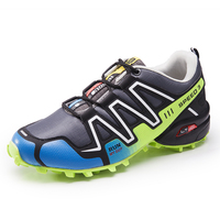 2019 New Luminous shoes Solomon series explosion proof hiking shoes Chaos large size outdoor shoes Non slip shoes