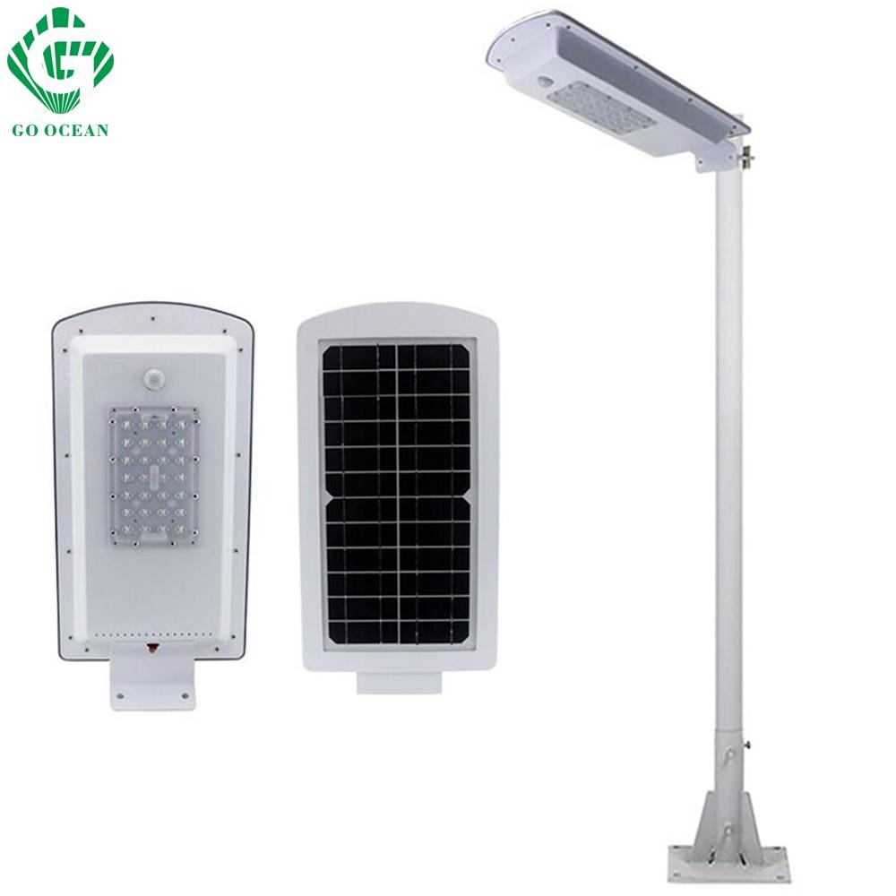 GO OCEAN Solar Lamps LED Solar Waterproof Wall Integrated LED Street Light Solar Lamp Motion Sensor Outdoor Garden Light (4)