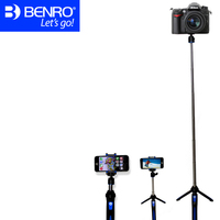 Benro MK10 Mini Smartphone Tripod Bluetooth Remote Control Table Tripod Portable Mobile Tripod For Wholesale 48 Pieces In 1 Box