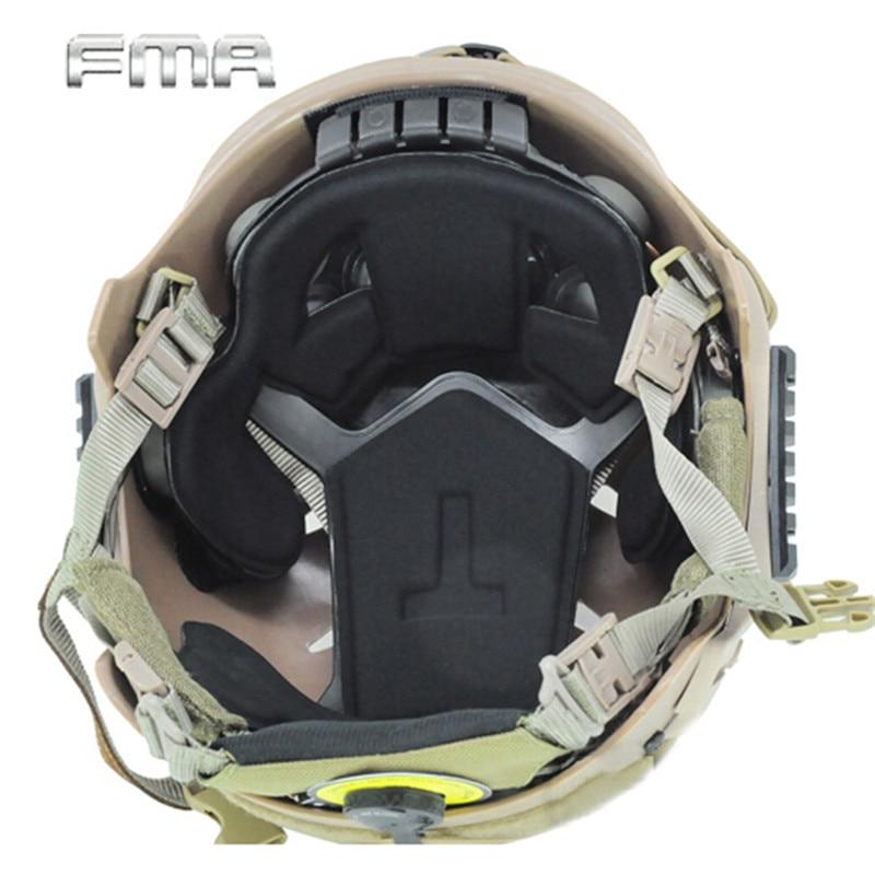 FMA Tactique Casque Protection Coussin Tapis De Protection Pad Pour EXF Rapide Saut Militaire Wargame Paintball Airsoft Casque Accessoire