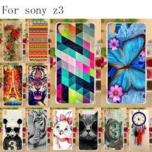 Anunob Mobile Phone Case For Sony Xperia Z3 L55U L55T D6603 D6643 D6653 D6616 D6633 Cases Soft Silicone Cover for Sony Xperia Z3 чехол для для мобильных телефонов for sony sony xperia z3 xperia z3 d6603 d6653 nfc for sony xperia z3 d6603 d6643 d6653 d6616