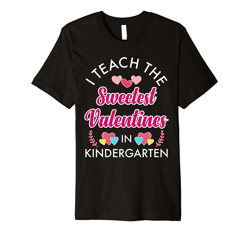 Cotton Tee Shirt For Crew Neck Men I Teach The Sweetest Kinder Short Sleeve Gift Shirts
