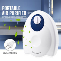 Air purifier Portable Ozone Generator Ozonator Ionizator Air Water Sterilizer Fruit Vegetables Purification for Home US EU Plug