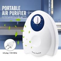 Air purifier Portable Ozone Generator Ozonator Ionizator Air Water Sterilizer Fruit Vegetables Purification for Home US EU Plug