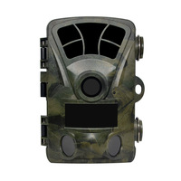 PDDHKK Hunting Trail Camera H885 2 IR LEDs Scouting Camera HD 1080P Videos 16MP images Wide Angle PIR sensor for Wild Animals
