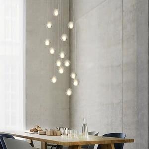 Image 2 - Modern G4 LED Pandant Lights Multiple Staircase Lamps Fixtures Fashion Living Bedroom Decora Restaurant Dining Kitchen Lighting