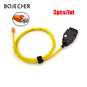 Image 1 - 3pcs/lot ESYS Data Cable ENET Ethernet to OBD E SYS ICOM Coding for F serie car diagnostic tool Cable