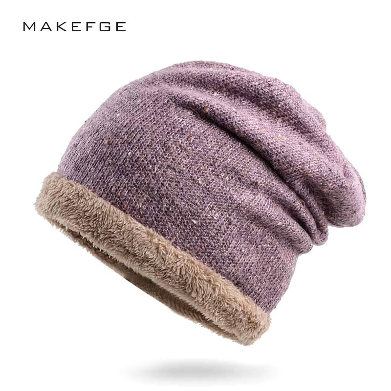 New Brand Beanies Knit Women's Winter Hat Fashion Warm Hat For Women girl hat knitted cap new thick female cap Skullies Bonnet skullies new arrival warm winter female knitted hat hedging interior plus fluff lines thick line twist cap cute hat 1866934