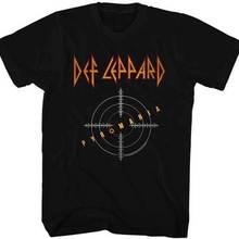 7c1931ffc109 Def Leppard Pyromania Target Adult T Shirt Heavy Metal MusicCute T shirts  Man(China)