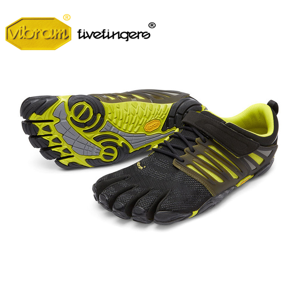Vibram Fivefingers V-TRAIN men's Shoes weightlifting Fitness Squat Training Running sports Five fingers Five toe Sneakers in gym