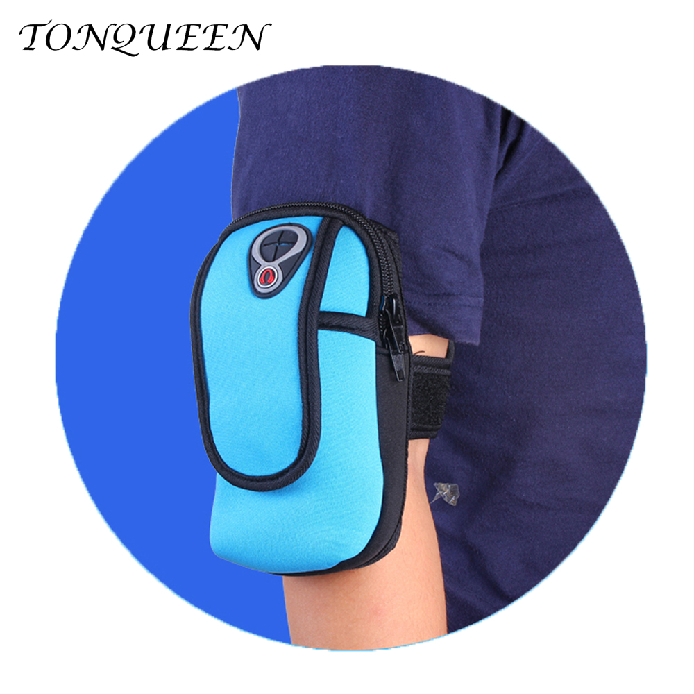 Daily leisure Sports Running Jogging Gym Armband Bag Case Cover Holder For Phone outdoor Cover Climbing Cycling Arm Bag WX068