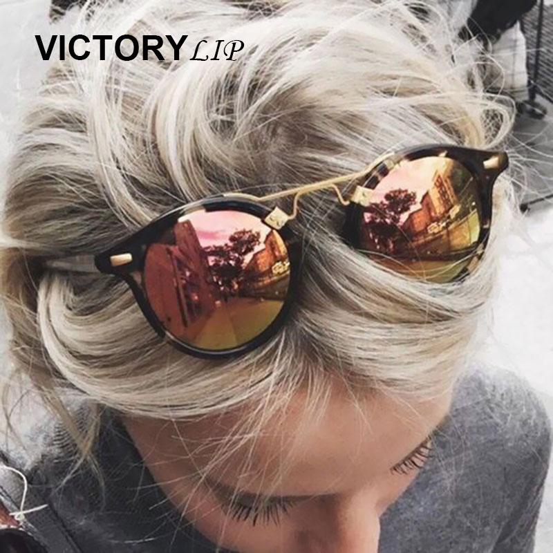Round Brazil Hot Sunglasses Men Women Mirror Sun Glasses Male Female Shades UV400 Shop online Famous Brand Designer dropshipping