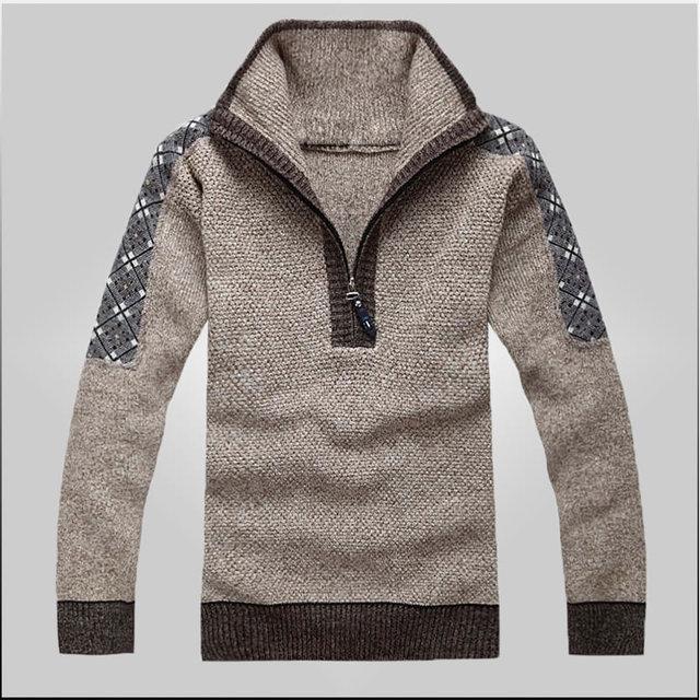 New Fashion Men\'s Pullover Cotton Sweater Pullovers Designer Mens ...
