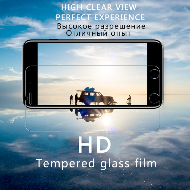 Protective tempered glass for iphone XS max XR 7 8 x screen protector glass on iphone 7 6S 8 6 plus 5 s se glass film Protection 3