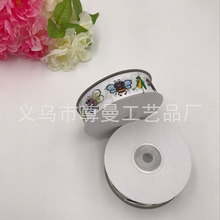 Wide 2.5cm Ribbon DIY Crafts Garment Decoration Material Accessories Digital Printing Sublimation Insect Series Thread
