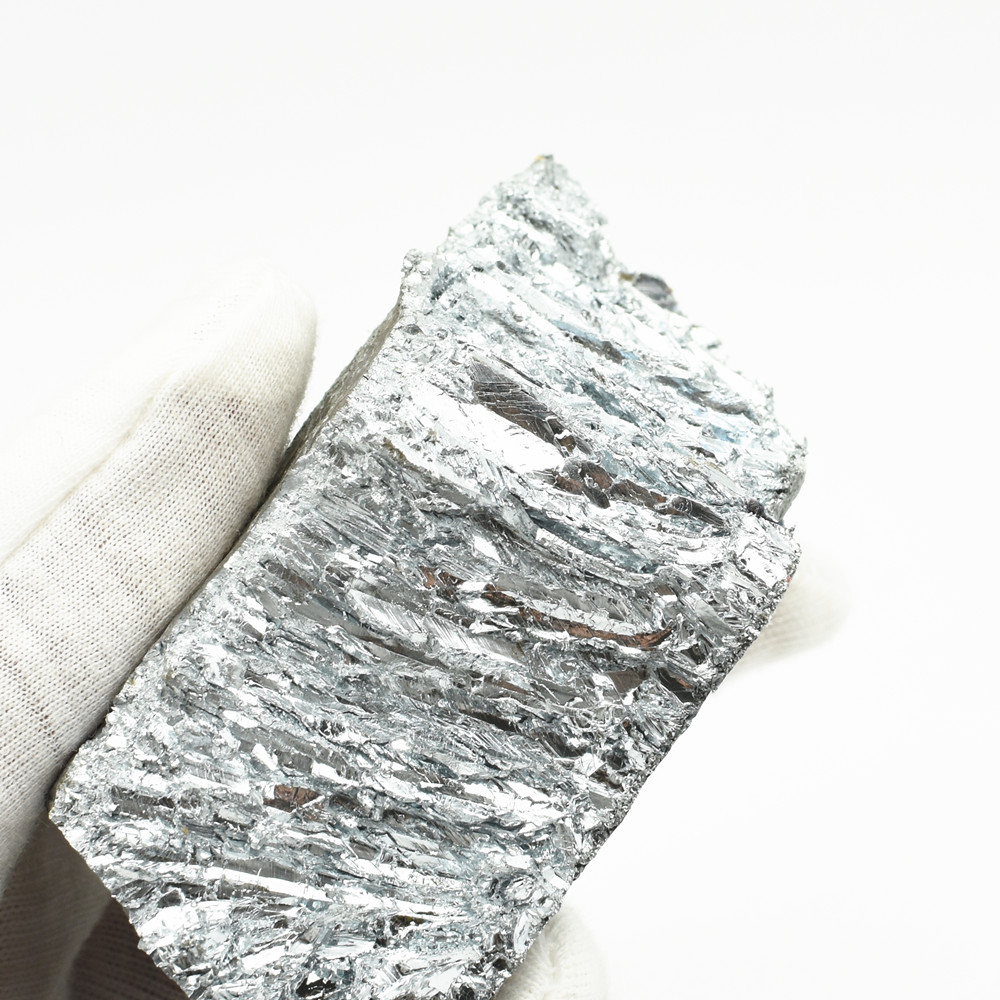 1kg Zinc Ingot Pure Zn Simple Substance 2.2lbs For Element Collection Lab Experiment Material Hobbies Display DIYs