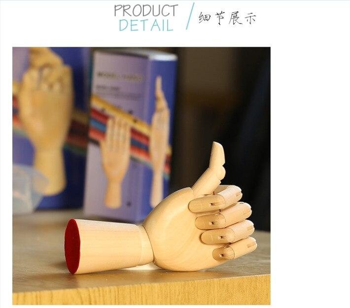 Mannequin de main de décoration Antique en bois de modèle en bois nouvellement à la mode de haute qualité à vendre