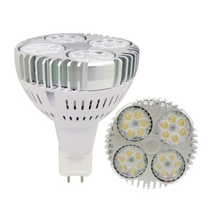 Image 2 - G12 led par30 مصباح 35 واط 130lm/ث G12 Par30 الأضواء استبدال 70 واط معدن هاليد مصباح AC85 265V