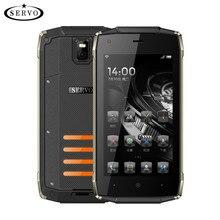 Téléphone d'origine SERVO H6 4.5 «IP67 Imperméable Spreadtrum7731C Quad Core 1 gb RAM 8g ROM Smartphones WCDMA GPS téléphones mobiles robustes