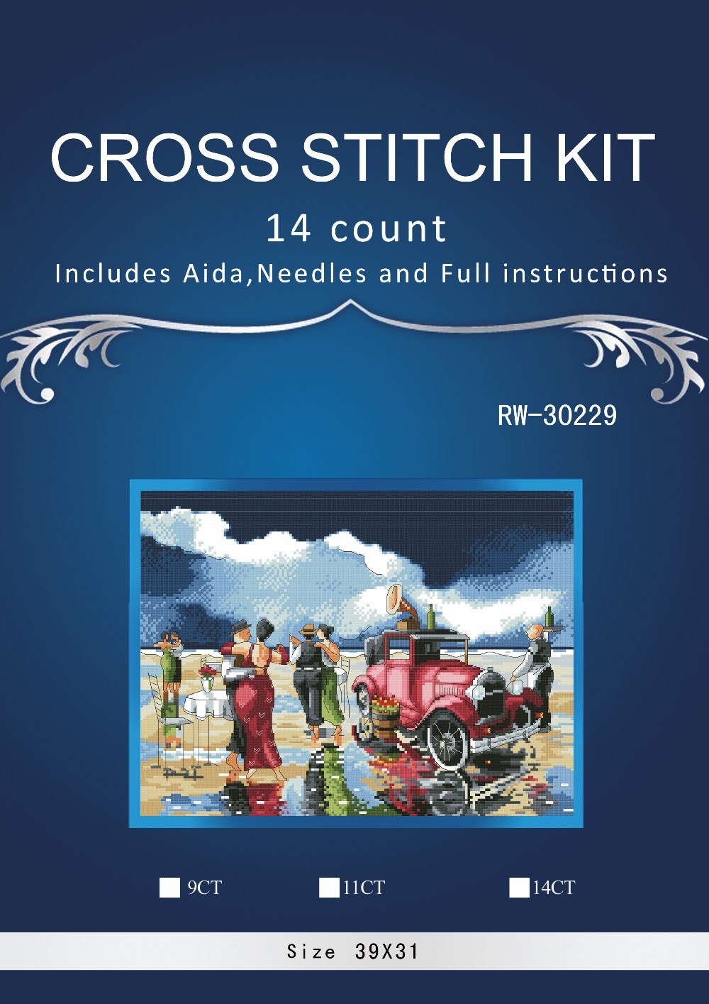 Cross-stitch Arts,crafts & Sewing Free Delivery Top Quality Lovely Counted Cross Stitch Kit Memories On Ice Skate Skating Winter Snow Moderate Cost