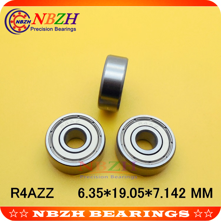 R4AZZ 50 PCS PRECISION DOUBLE SHIELDED BEARINGS FACTORY NEW SHIPS FROM THE USA