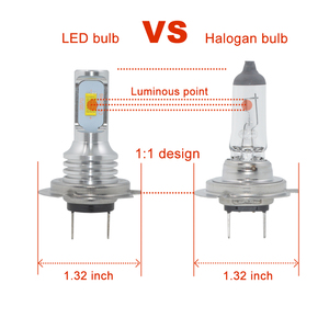 Image 5 - 1 pair 72W H7 led Car lights 3000lm CANBUS LED Bulb White 6000k led Car Headlight car lamp 12V 24V H7 headlamp car styling