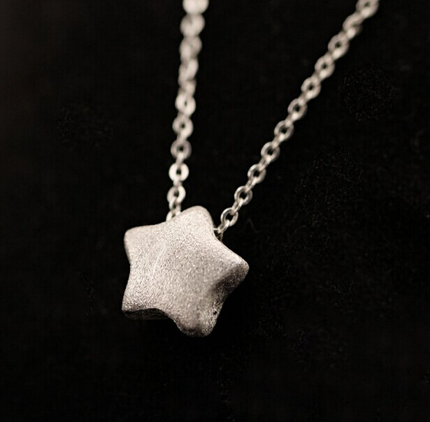 925 sterling silver star necklaces pendants for women silver chain 925 sterling silver star necklaces pendants for women silver chain necklace fine jewelry collar colar aloadofball Image collections