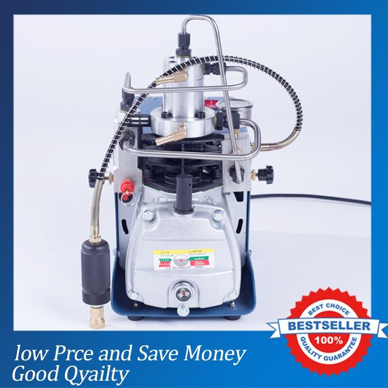 30MPA High Pressure Air Pump Water Cooling Electric Mini Inflator 220V Air Compressor 2017 top fashion new arrival piston pump 0 40mpa high pressure air pump cooling electric mini inor pcp compressor 220v