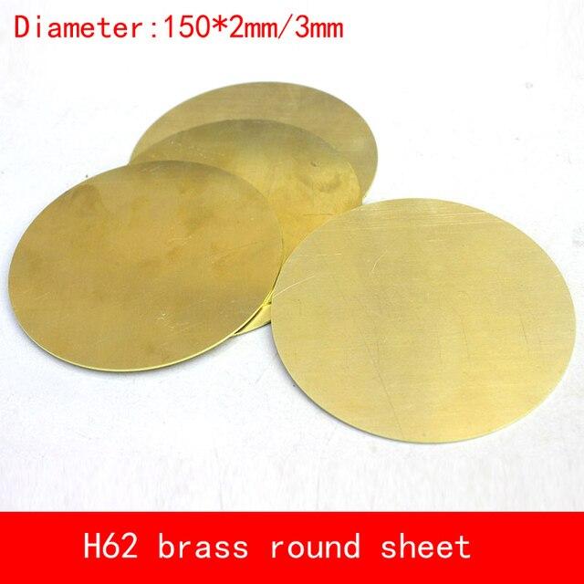 Durchmesser 150*2mm/3mm rund runde H62 CuZn40 Messing platte 2/3mm ...