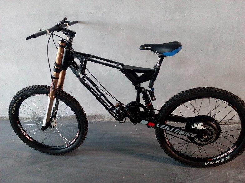 Enduroebike powerful electric bike superman frame for 5000w electric ...