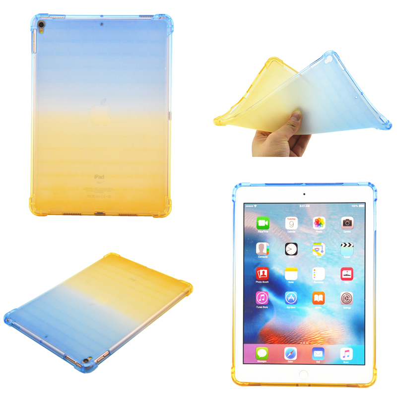 Drop Resistance Gradient Soft Silicon TPU Cover for Apple iPad Pro 10 5 inch 2017 for iPad Air 3 10 5 2019 Case Coque Funda in Tablets e Books Case from Computer Office
