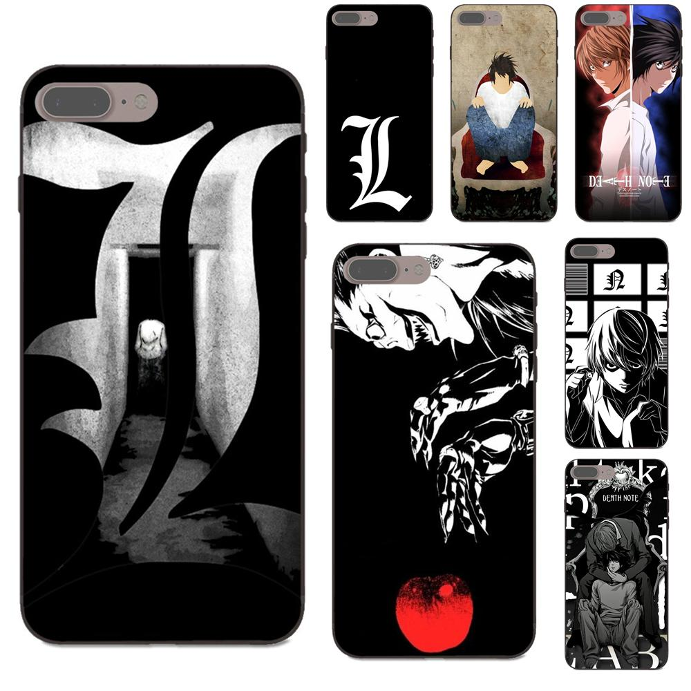 NEW* Death Note L & Logo Case Compatible for Iphone 5