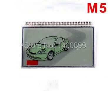 M5 LCD display Screen For Scher Khan M5 lcd remote control Key Fob Chain/ Scher-Khan Magicar 5 keychain