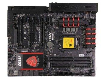 MSI Z97 игровая 9 AC оригинальная материнская плата Z97 LGA 1150 DDR3 розетка LGA 1150 i3 i5 i7 DDR3 16G SATA3 USB3.0 Бесплатная доставка