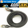 Premium 5M HDMI 2.0 Cable Ultra HD 2160p 4k Professional ARC 3D 4K X2K HDMI cable V 2.0