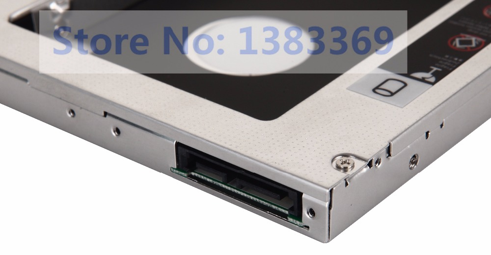 2nd Hard Drive HDD SSD Caddy Adapter for Fujitsu Celsius H700 H710 H720 AD-7710H
