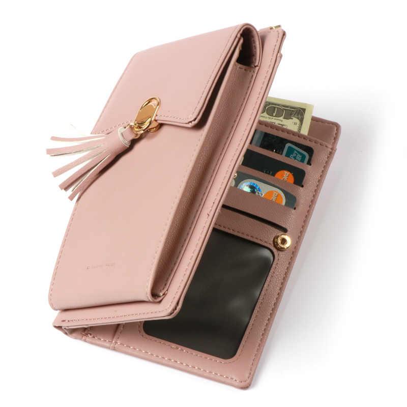 abd3437f6011 ... Жемчуг Angeli модные женские туфли кошелек кисточкой Crossbody сумка  держатель для карт Портмоне леди сумочка клатч ...