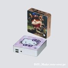 cheap price MINI DIY PC for personal mini computer celeron 2980U htpc tv box gaming pc thin client