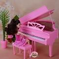 Куклы аксессуары новая мебель розовый моделирование фортепиано для барби куклы diy игровые наборы для детей девочек день рождения подарки